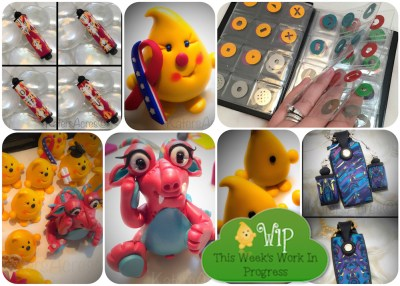 WIP Wednesday in KatersAcres Polymer Clay Studio