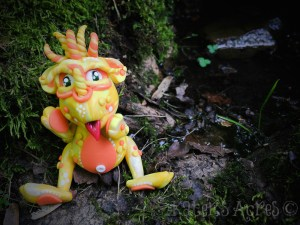 2015 Polymer Clay Challenge, Week 25 by KatersAcres   #2015PCChallenge
