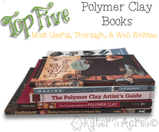 Top 5 Polymer Books by KatersAcres