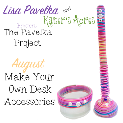 August - Pavelka Project | Make Your Own Extruded Desk Accessories