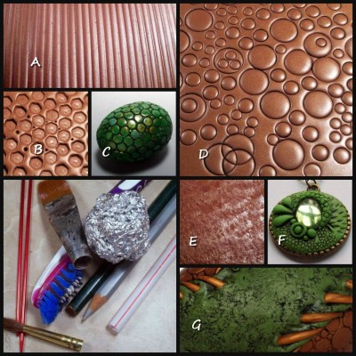Polymer Clay Top Five Texture Tools   Everyday Household items demonstration by Chris Kapono
