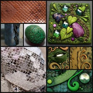 Polymer Clay Top Five Texture Tools | Lace and fabric demonstration by Chris Kapono
