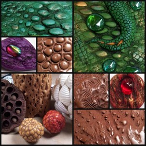 Polymer Clay Top Five Texture Tools | Textures from natural objects demonstration by Chris Kapono