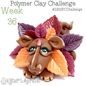 2015 Polymer Clay Challenge, Week 36 by KatersAcres | #2015PCChallenge
