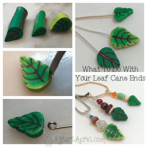 What To Do with Your Leaf Cane Scraps Tutorial by KatersAcres | Click for Ideas, Tips, & Suggestions