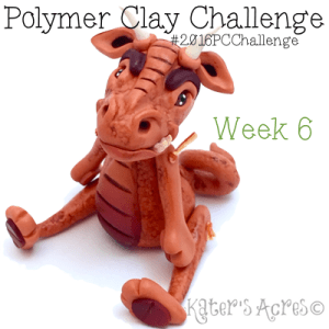 "2016 Polymer Clay Challenge - Week 6 ""Snark"" with #KatersAcres #2016PCChallenge"