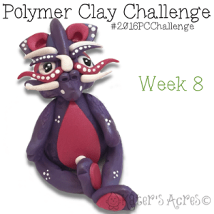 2016 Polymer Clay Challenge - Week 8 with #KatersAcres #2016PCChallenge