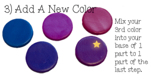 Polymer Clay Color Play Tutorial by KatersAcres - Step 3