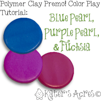 Polymer Clay Color Play Tutorial by KatersAcres