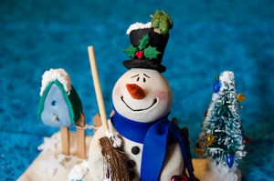 Snowman by Cyndi Small