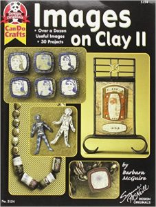 Images on Clay II Polymer Clay Book by Barbara McGuire