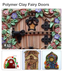 Kater's Acres Pinterest Board, Polymer Clay Fairy Doors