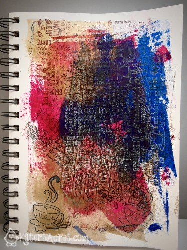 Polymer Clay Art Journal Page from Scraps Tutorial by KatersAcres   CLICK to see instructions to make your own