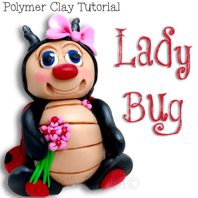 Polymer Clay Lady Bug Tutorial by KatersAcres