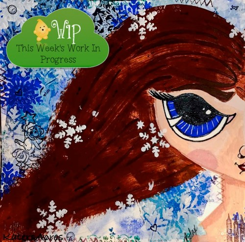 Winter Girl Midori Dashboard by KatersAcres | WIP Wednesday