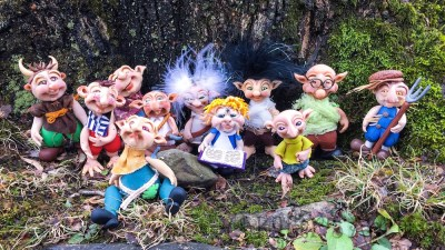 The 'Schrumes | Collectible, Handsculpted Elvish Troll Figurines by Katie Oskin
