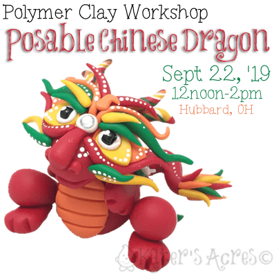 Chinese Dragon Workshop - Sept 22, 2019