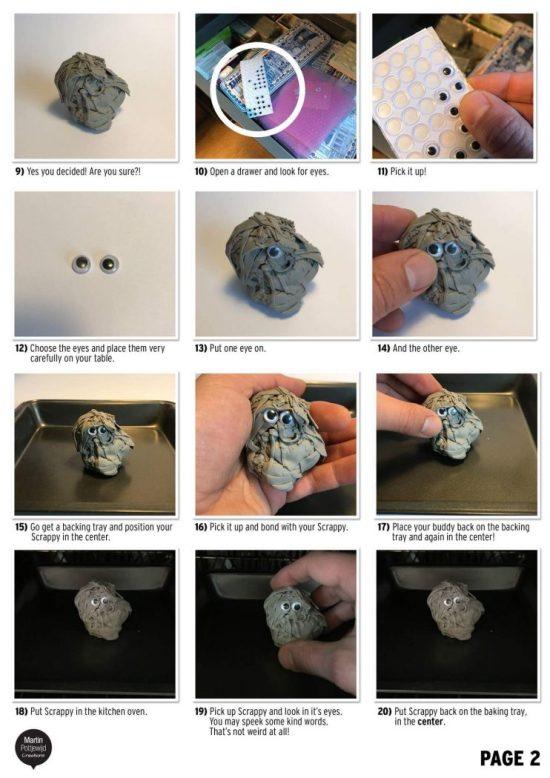 Polymer Clay Scrappy Tutorial by Martin Pottjewijd