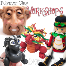Polymer Clay Sculpting Workshops