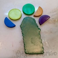Making a Color Palette 101 - Dark Green Shimmer