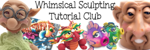 Parker's Clayful Tutorials Club | Get 2 Polymer Clay PDF Projects a Month - CLICK to sign up