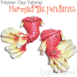 Polymer Clay Mermaid Tail Tutorial by KatersAcres