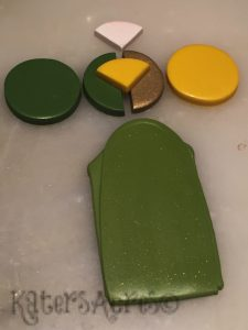Foliage Sparkle Green Fall 2017 Polymer Clay Color Recipe by KatersAcres-imp