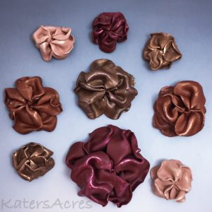 Faux Leather Sculpted Flowers Tutorial by KatersAcres