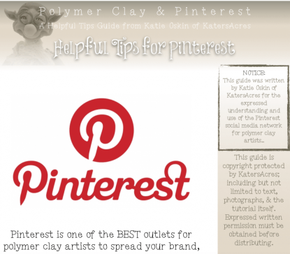 Polymer Clay & Pinterest PREVIEW