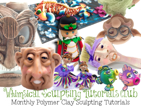 Whimsical Sculpting Tutorials Club with KatersAcres