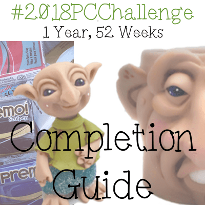 2018 Polymer Clay Challenge with KatersAcres | Completion Guide