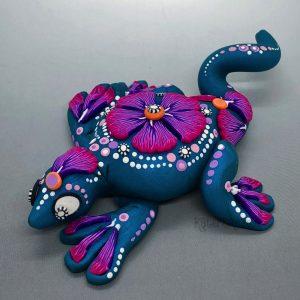 Faux Oaxacan Lizard by Katie Oskin