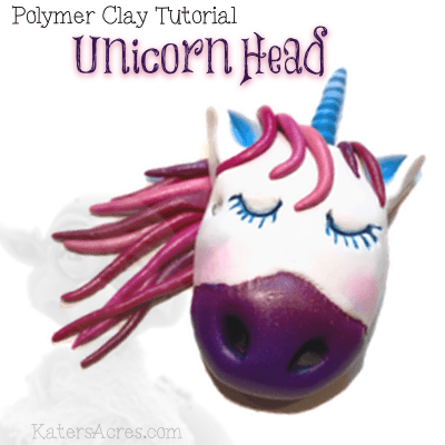 Unicorn Head Tutorial by KatersAcres