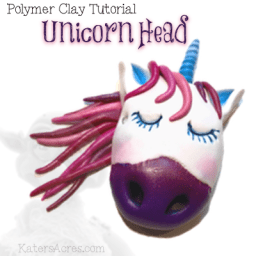 Unicorn Head Tutorial by KatersAcres