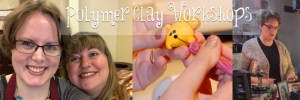Polymer Clay Workshops with Katie Oskin of Kater's Acres