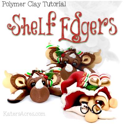 Christmas Shelf Edgers Tutorial by Katie Oskin
