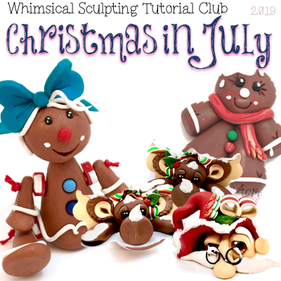July 2019 Christmas in July - BASIC Club Members