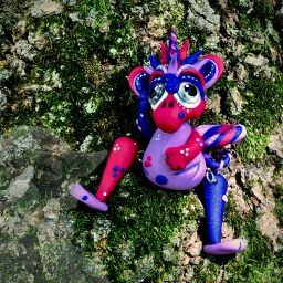 Bari, the Berry Dragon by KatersAcres