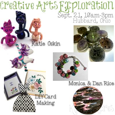 Creative Arts Exploration Day Workshop in Ohio