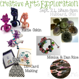 Creative Arts Exploration Day Workshop in Ohio