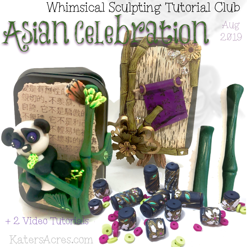 PREMIUM Club Tutorials - August Asian Celebration