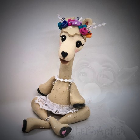 Llama Doll by Katie Oskin of KatersAcres