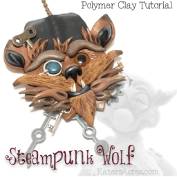 Polymer Clay Steampunk Wolf Tutorial