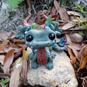 Forest Dragon by Farm Girl Folly