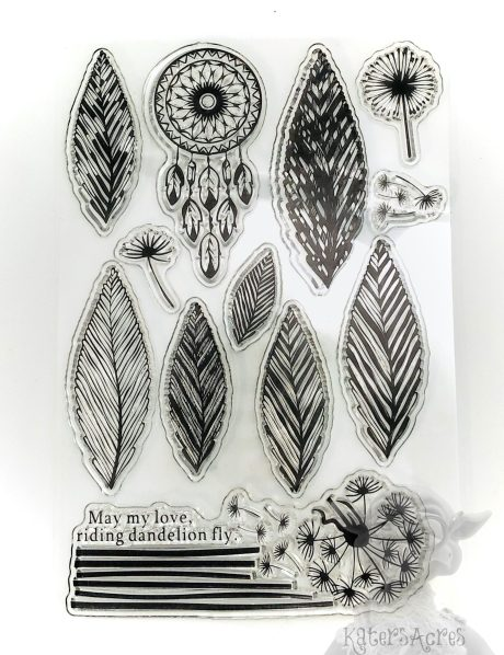 Dreamcatcher & Feathers Stamp Set from Kater's Acres