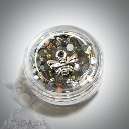 Bee Nectar Glass Crystal Mini Jar from Kater's Acres