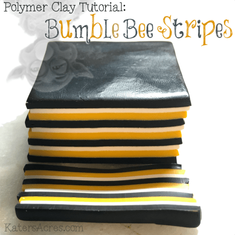 Bumble Bee Stripes Tutorial by Kater's Acres
