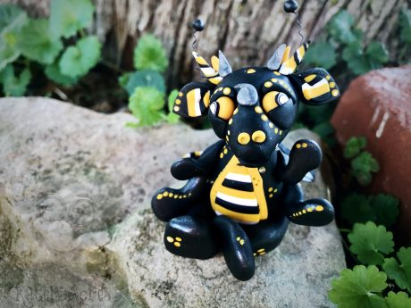 Buzzy the Bee Dragon from Kater's Acres