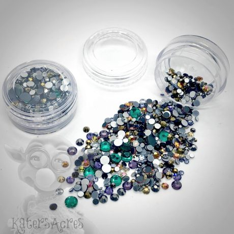 Nature Glass Crystals Mini Jar from Kater's Acres