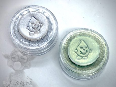 Mountaintop Mica Powder Duo of Bubble Blue & Seafoam from Kater's Acres